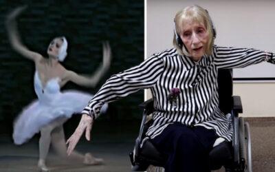 Πρώην μπαλαρίνα με Αλτσχάιμερ ακούει τη Λίμνη των Κύκνων – Δείτε το ΒΙΝΤΕΟ